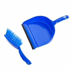 Colour-coded Dustpan and Brush Set