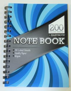 Twin Wire Spiral Bound Notebook