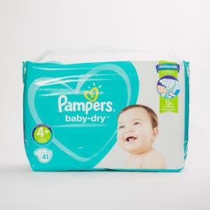 Pampers Nappies Size 4+